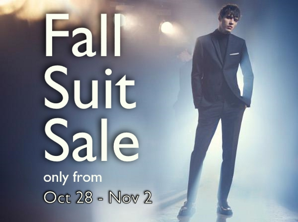 Staccato Menswear Vancouver Suit Sale Weddings Special Occasions
