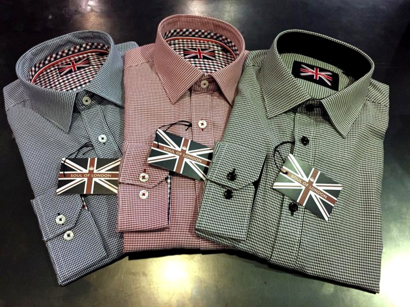 Soul of London Dress Shirts Staccato Menswear Vnacouver