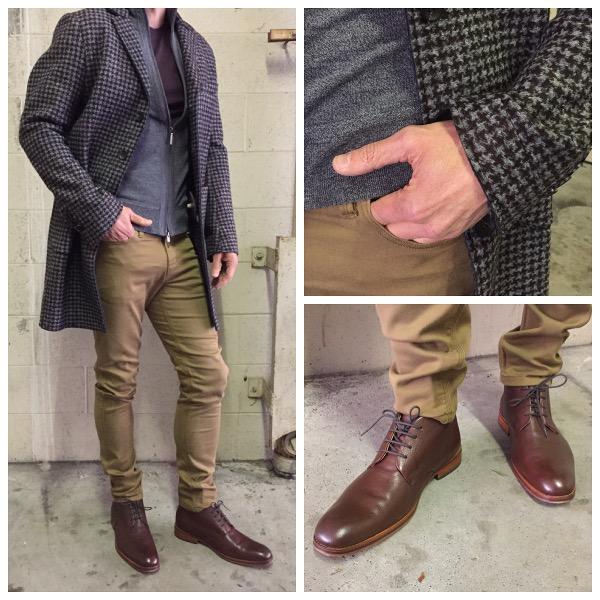 Staccato Menswear Mason's Overcoat Johnston&Murphy Duer Jeans