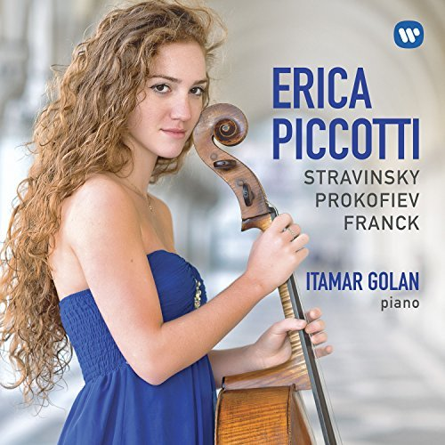 Erica Piccotti, Stravinsky, Prokofiev & Franck: Works for Cello & Piano Review 2