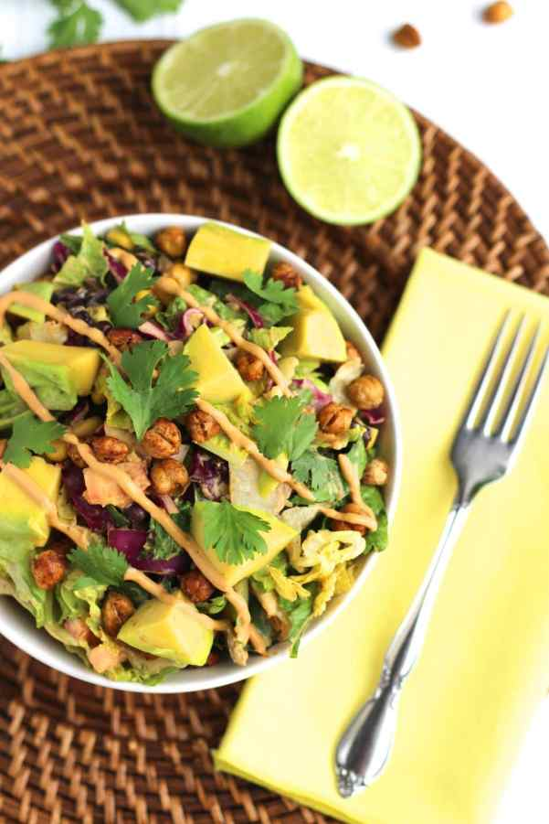 Chipotle Chickpea Taco Salad 3