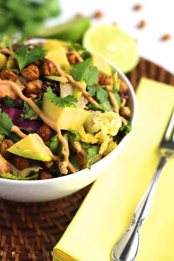 Chipotle Chickpea Taco Salad