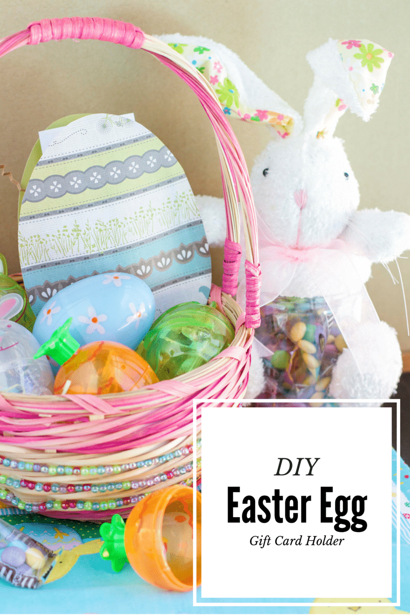 Diy easter egg gift card holder stacey homemaker not ready for easter follow my easy tutorial to make your own easter egg gift negle Image collections
