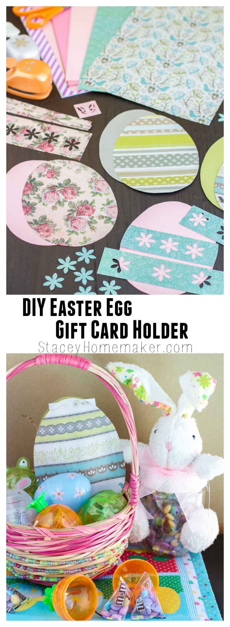 Diy easter egg gift card holder stacey homemaker not ready for easter follow my easy tutorial to make your own easter egg gift negle Images