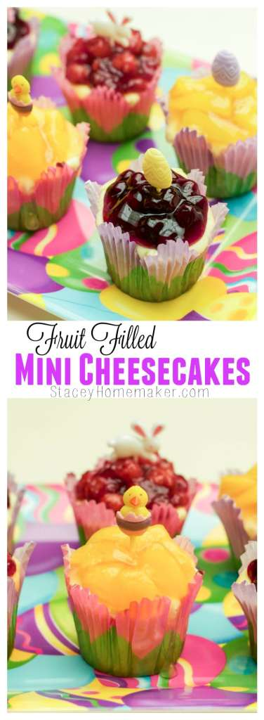 These mini cheesecakes are my favorite dessert! My mom finally shared her secret recipe with me!