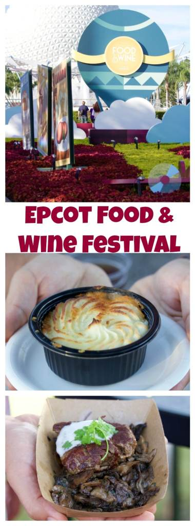 Epcot Food & Wine Festival menu, what to eat and what to skip!