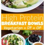 My hubby calls these the BEST healthy breakfast bowls ever! We love the garlicky spinach scrambled eggs & caesar dressing!