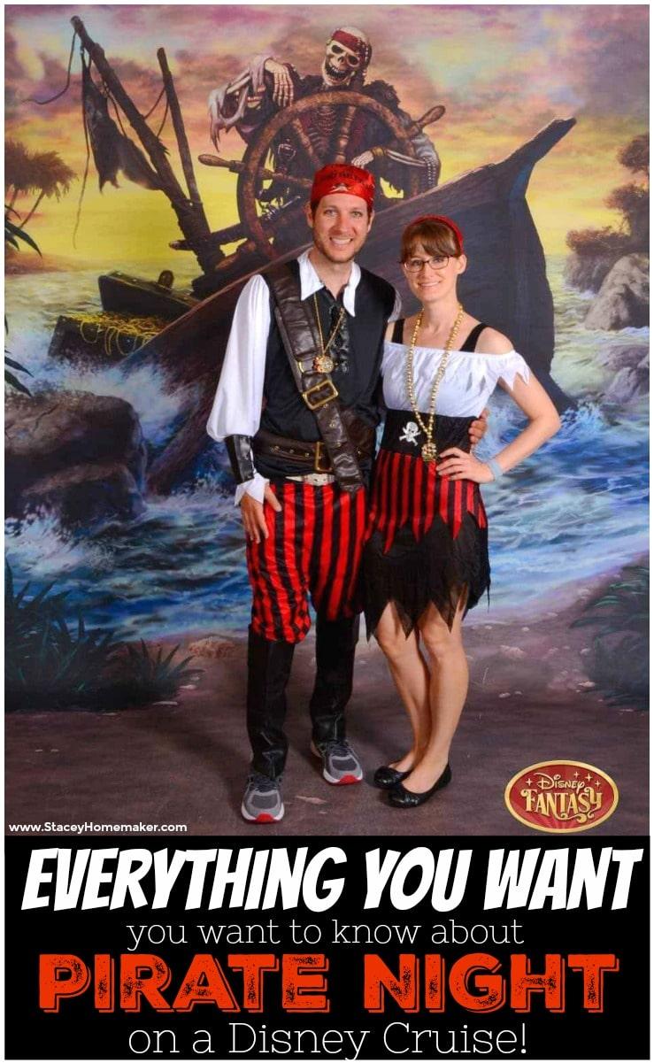 Disney Cruise Pirate Night