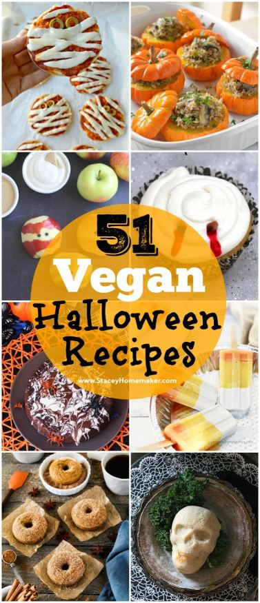What vegan recipes are you making for Halloween? Here's the ultimate list of 51 vegan Halloween recipes for you to choose from!