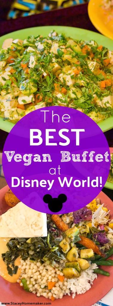 Vegan food at Tusker House