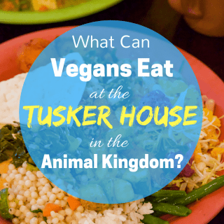 Vegan food at Tusker House