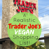 A Realistic Trader Joe's Vegan Shopping List