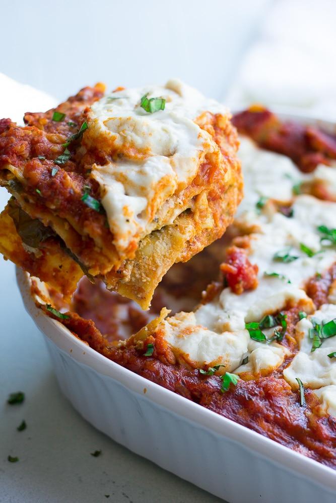 The Best Vegan Lentil Lasagna