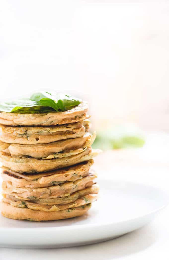 Lentil Spinach Pancakes