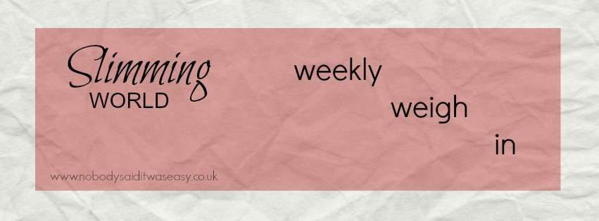 No weight loss second week slimming world