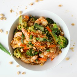 Low Sugar Pad Thai | Gluten-Free