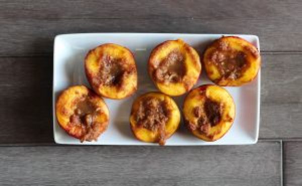 Roasted Nectarines | by Stacey Mattinson, MS, RDN, LD
