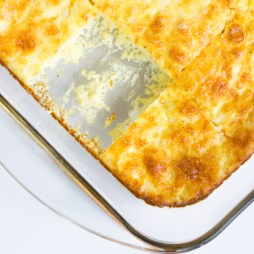 Lightened Up Egg Casserole | Vegetarian