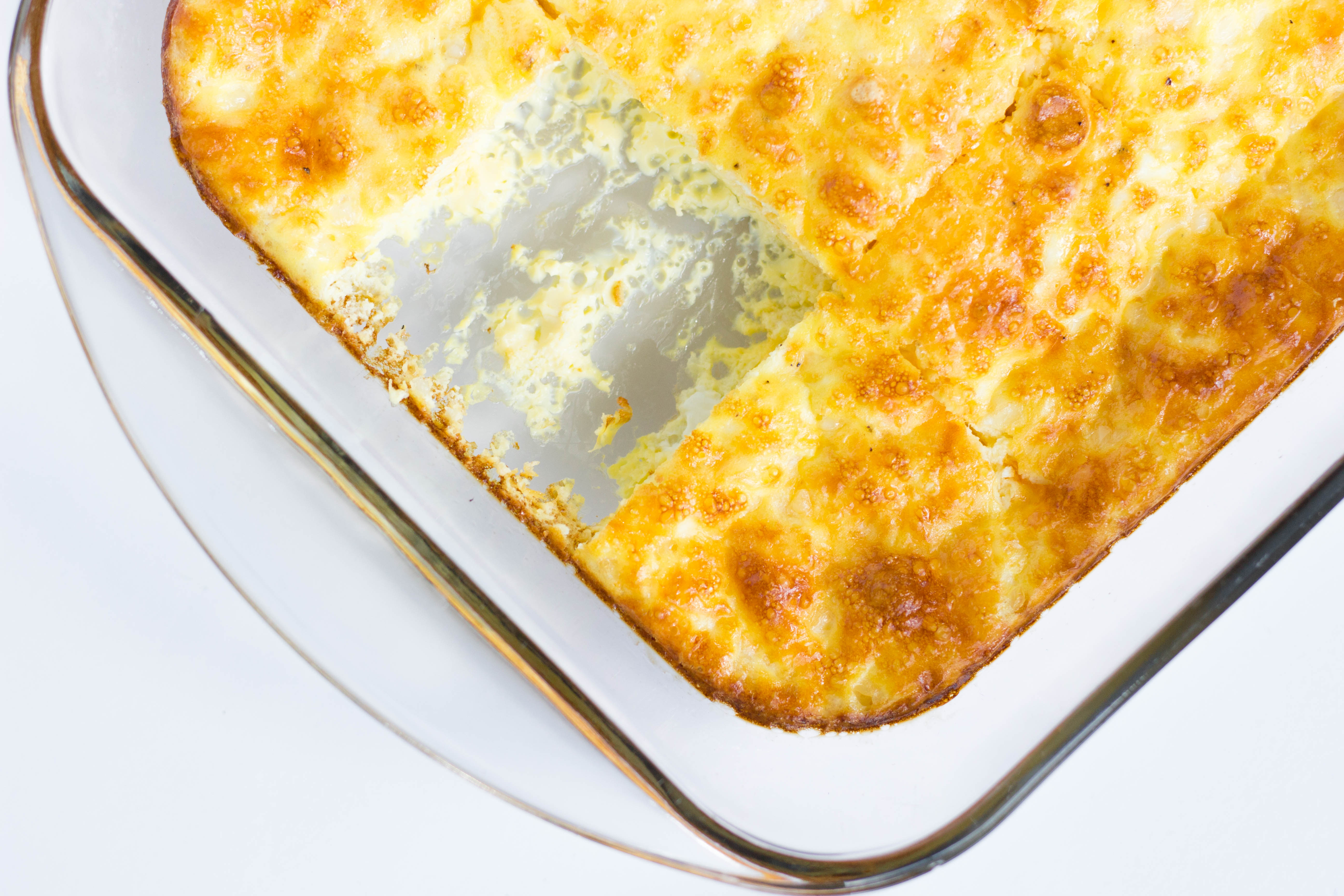 Healthy Egg Casserole by Stacey Mattinson Nutrition