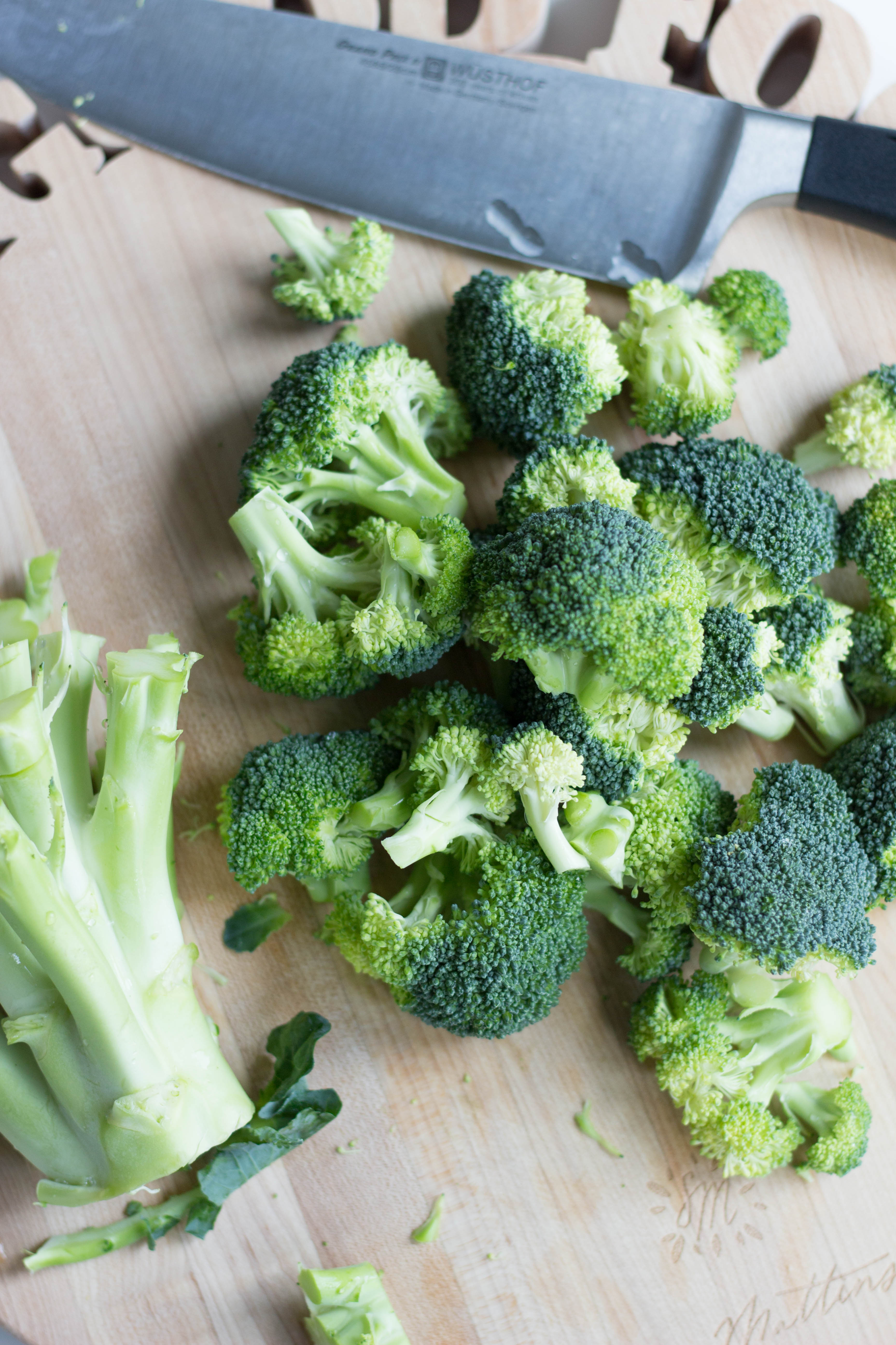 Easy Roasted Broccoli by Stacey Mattinson Nutrition