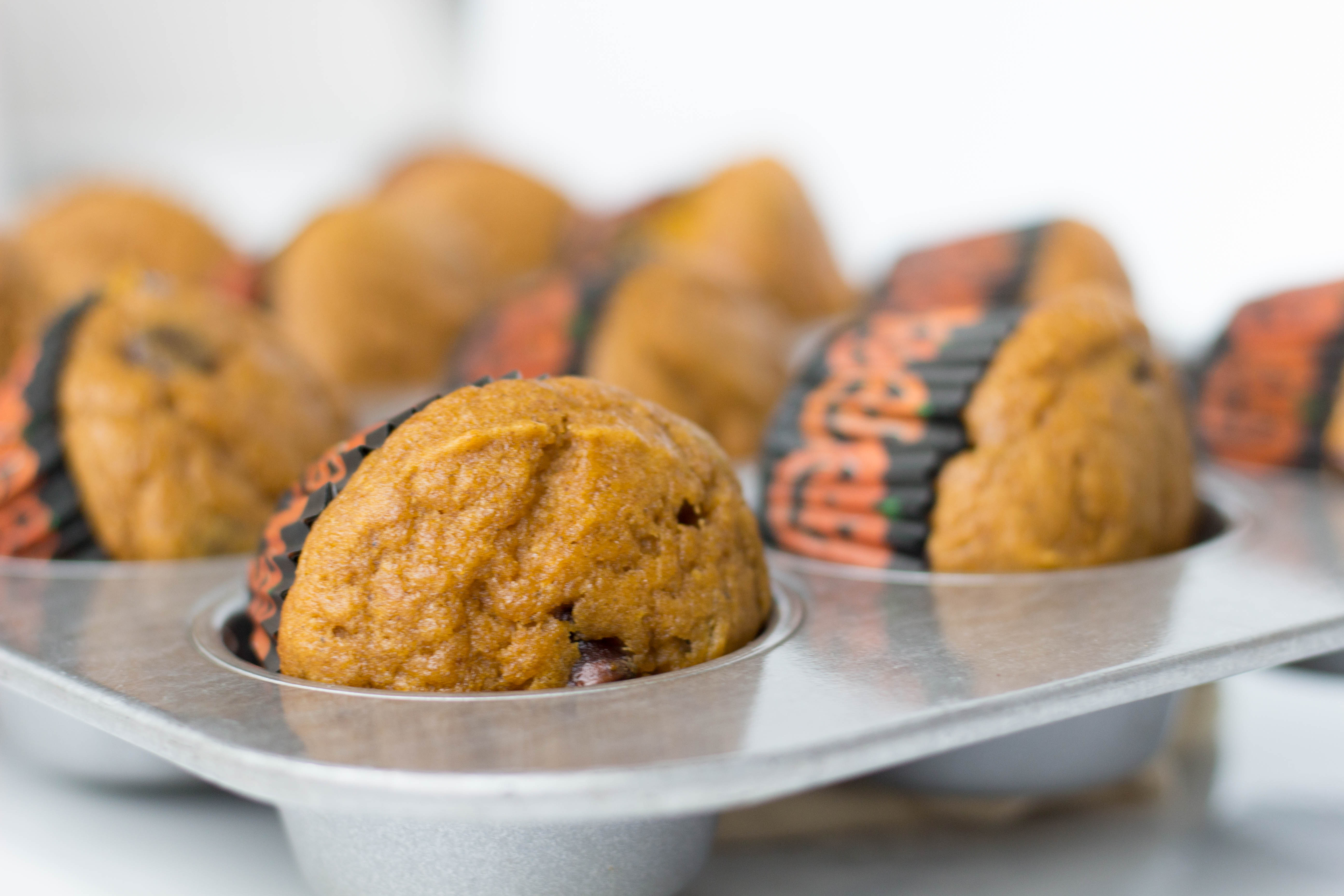 Pumpkin Chocolate Chip Muffins | Stacey Mattinson Nutrition
