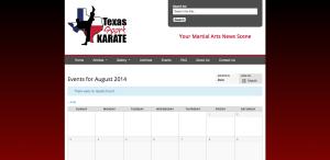 Texas Sport Karate - Website