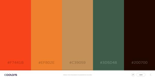 Coolors - The super fast color palettes generator!