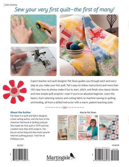 Selected Textbook | Quilting Start to Finish | Stacey Sansom Designs