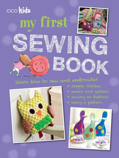 Selected Textbook | Kid's Hand Sewing | Stacey Sansom Designs