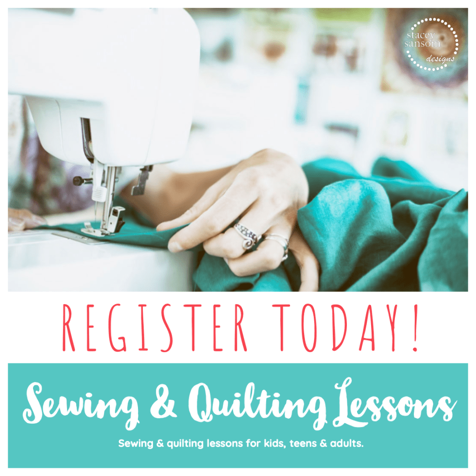 Book your sewing lesson today! | Learn to Sew | Stacey Sansom Designs