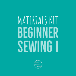 Sewing Lessons DFW | Beginner Sewing I Materials Kit | Stacey Sansom Designs