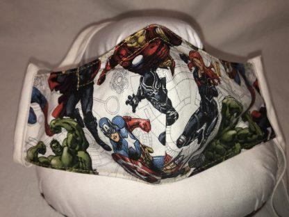 Medium Face Mask (Ver 1) - Popular Super Heros (Ver 1)   Stacey Sansom Designs