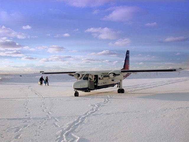 The world's shortest scheduled airline flight