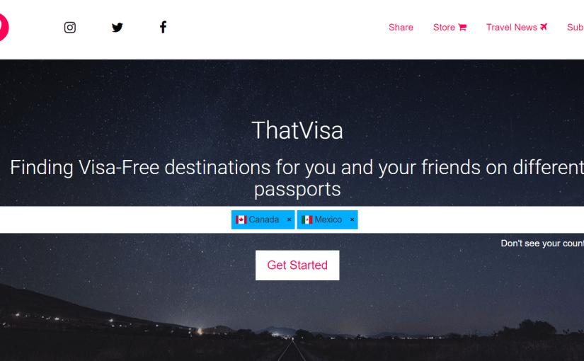 "<a target=""_blank"" href=""https://thatvisa.com"">That Visa lets your international friends find visa-free destinations</a>"