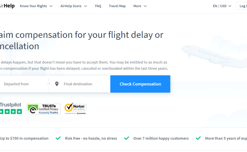 """<a href=""""https://www.airhelp.com/en-ie/"""">AirHelp helps you get compensation for delayed or cancelled flights</a>"""