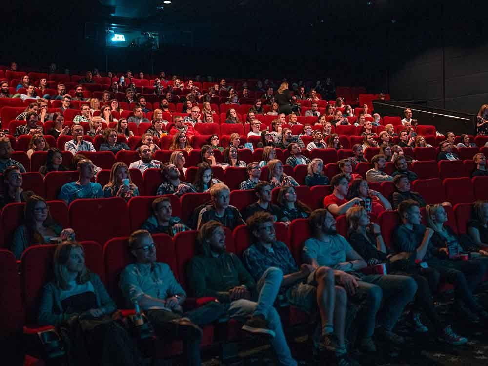 Movie theatre audience