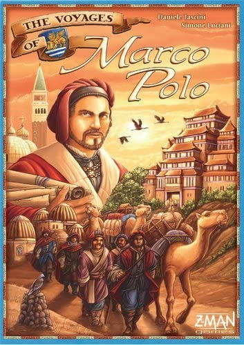 Voyages of Marco Polo board game