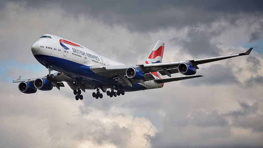 British Airways Boeing 747 Jumbo jet
