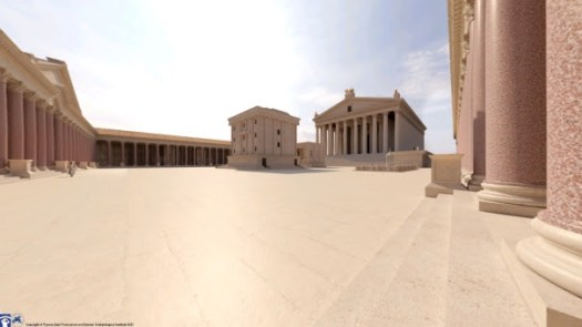 Virtual Roman ruins