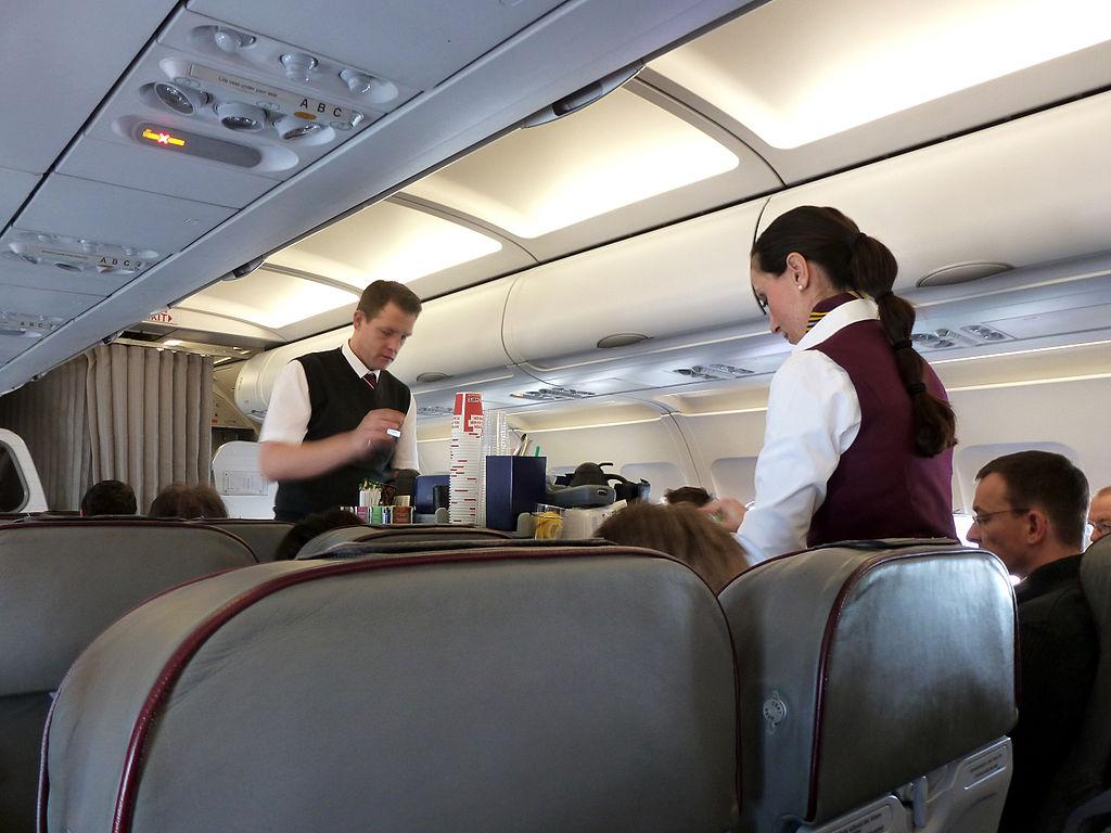 In-flight cabin service