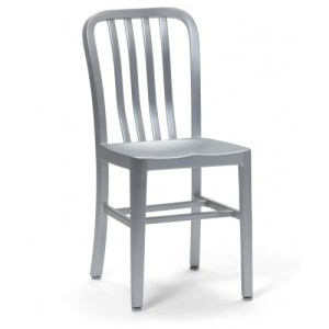 All Aluminum Oceanic Side Chair