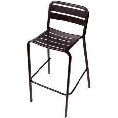 Stackable Chairs For Less Taupe Dining Canada Vista Stacking Outdoor Barstool Dv552bl Stackchairs4less