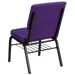 Cathedral Chairs Tufted Barrel Chair Purple Fabric Church Xu Ch 60096 Pu Bas Gg