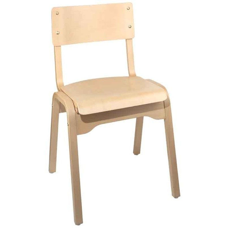 stackable chairs for less rolling garage chair carlo armless wood seat stacking