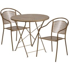 Steel Chair Gold School Bus Table And 30rd Fold Patio Set Co 30rdf 03chr2 Gd Gg Stackchairs4less Com Our 30 Round Indoor Outdoor Folding With 2