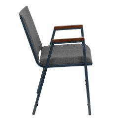 Stackable Chairs For Less Ikea White Wooden Chair Gray Fabric Stack Armchair Xu 60154 Gy Gg