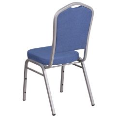 Stackable Chairs For Less Ergonomic Chair Leg Circulation Blue Fabric Banquet Fd C01 S 7 Gg Stackchairs4less