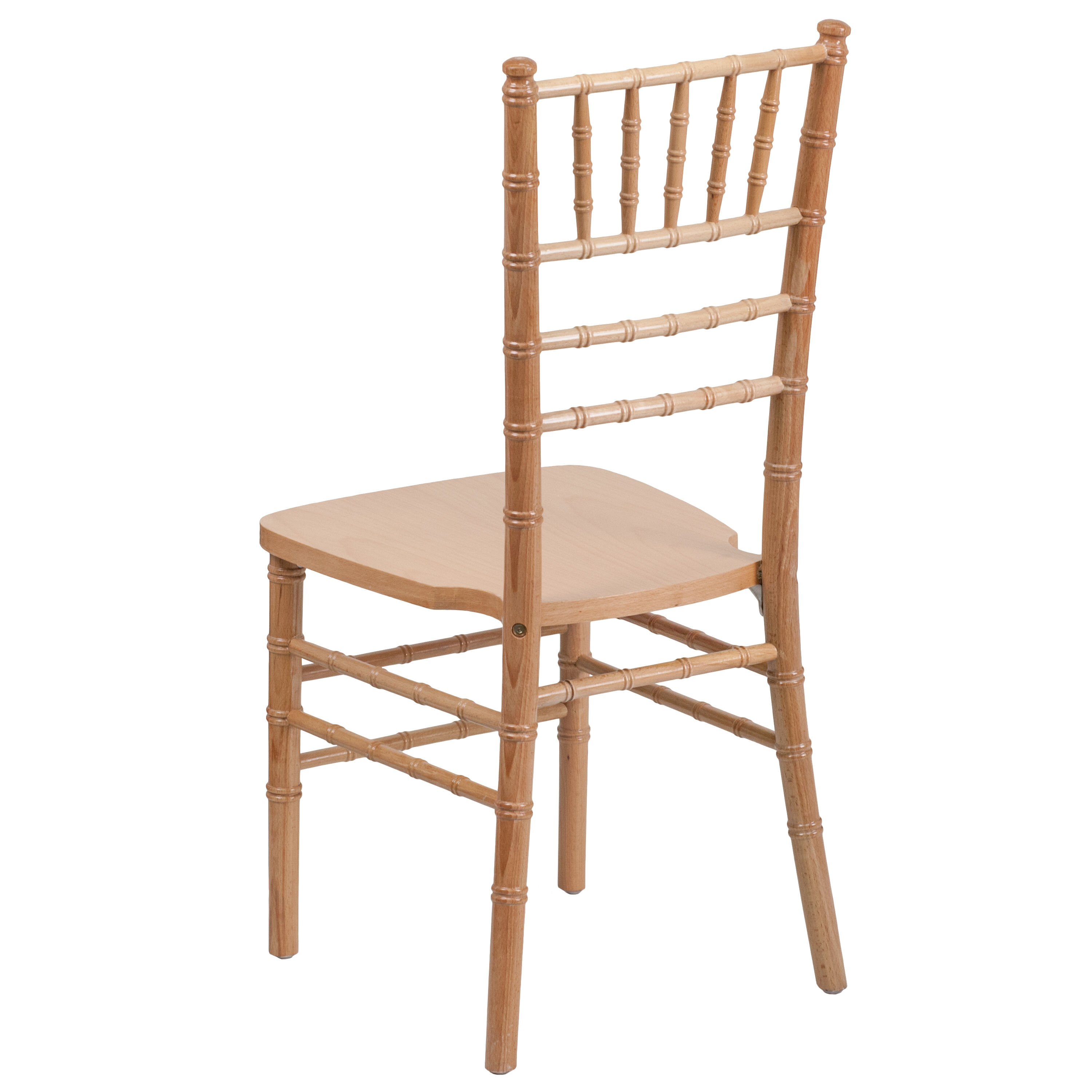 natural chiavari chairs ashley furniture accent wood chair xs gg stackchairs4less com