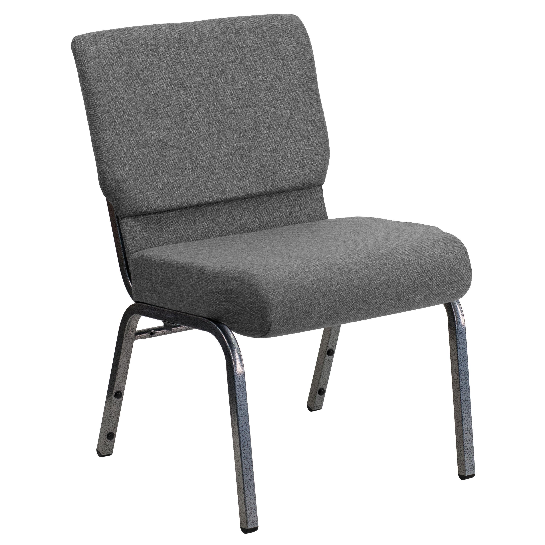free church chairs velvet armchair melbourne gray fabric chair xu ch0221 gy sv gg