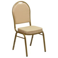 Stackable Chairs For Less 70s Office Chair Beige Fabric Banquet Fd C03 Allgold H20124e Gg